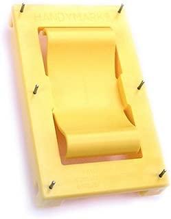 HandyMark FBA_HM1001-BF Drywall Marker 1-Pack #HM1001-BF, Medium, Yellow