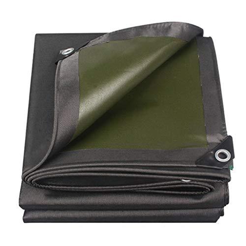 AOLI Waterproof Tarpaulin Heavy Duty Tarp Roof Cover Garden Rain Cover Tarp Sheet,Multi-Size Options,Thickness 0.7Mm,5m*7m
