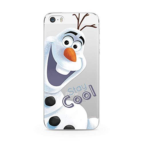 Ert Group DPCOLAF001 Custodia per Cellulare Disney Olaf 001 iPhone 5/5S/SE
