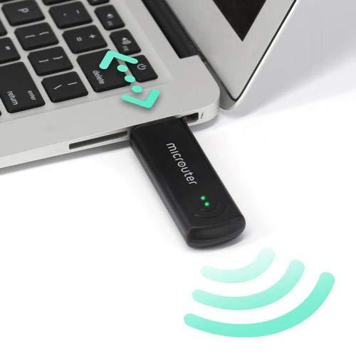 GL.iNet GL-USB150 (Mikrouter) 150Mbps Geschwindigkeit, 2,4 GHz, 64MB RAM, 16MB Nor Flash, OpenWrt vorinstalliert, OpenVPN-Client