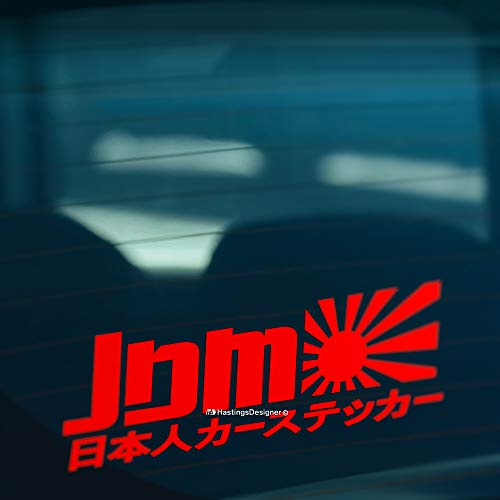 HastingsDesigner JDM Japanese Sun Car, Bike, Window, Bumper JDM JAP DRIFT...