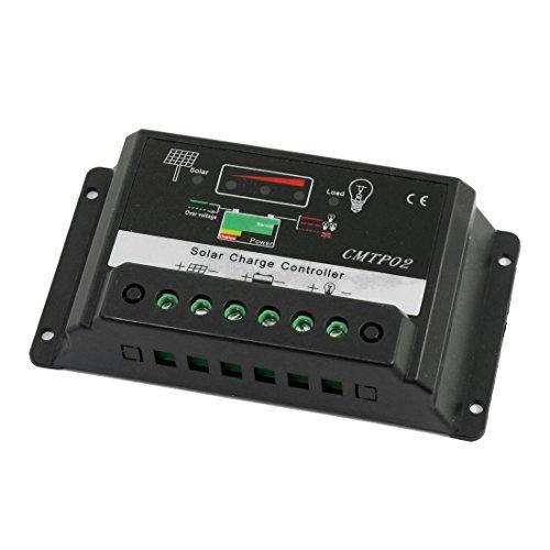 IIVVERR CMTP02 5A PWM 12V 24V Solar Panel Battery Regulator Charge...