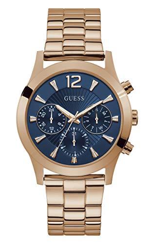 Guess Quartz Blue Dial Ladies Multifunction Watch W1295L3