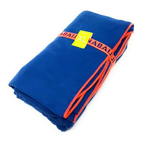 Nabaiji microvezel handdoek XXL reizen sport zwemmen wandelen sneldrogende handdoeken van microvezel ultra-licht strand/gymnastiek/superabsorberende handdoeken 110cm x 175cm