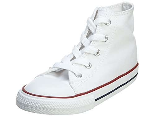 Converse Chuck Taylor All Star High, Zapatillas Unisex niños, Optical Blanco, 25 EU