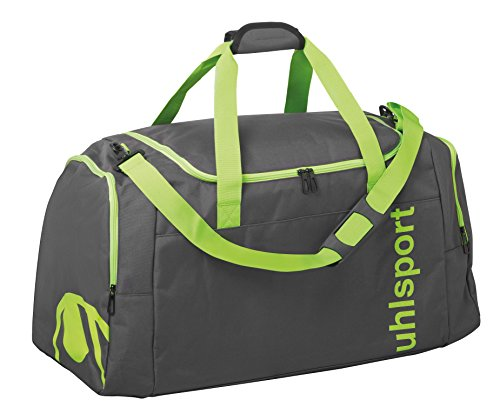 UHL 100425304 Essential 2.0 Sports Bolso de Gimnasio  45 cm  75 litros  Anthracita Fluo