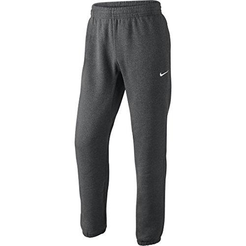 Nike Herren Sweathose Squad Fleece, charcoal heathr/white, M, 611459-071