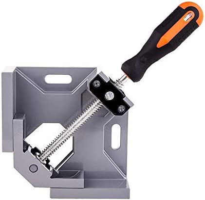 Angle Clamp 90 Degree Clamps For Woodworking Swing Jaw Adjustable Frame Vise Aluminum Alloy product image