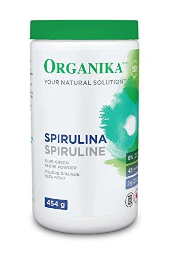 ORGANIKA SPIRULINA POWDER 454 G
