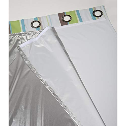 Moondream Forro Térmico Verano Refresh, Aislación Térmica Calor, Tecnología Patentada, Oeko-Tex®, Aluminio, 135 x 240 (An. x Al.) cm