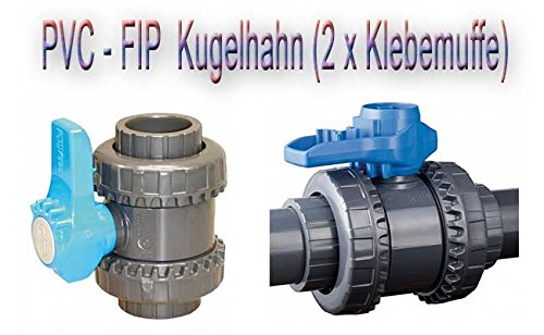 PVC Kugelhahn Fip 40mm