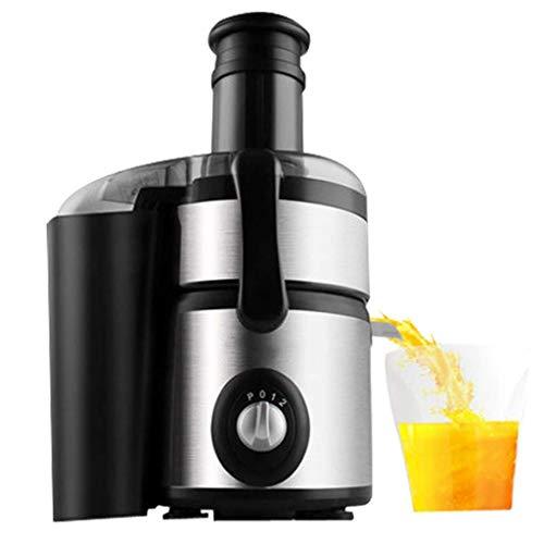ZWWZ Juicer-Maschinen, Juicer-langsamer Kumpel-Extraktor erzeugt köstliche Fruchtgemüse und grüne grüne hohe Saft-Ertrag und konserviert Nährwert aus Edelstahlbasis langsamer Kumpel HAIKE