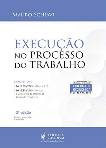 Execução no Processo de Trabalho - 12ª Edição (2020)