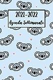 2021-2022 Agenda Settimanale: Koala Diario, Pianificatore | A5 (6x9) - Regalo per Donne, Ragazze
