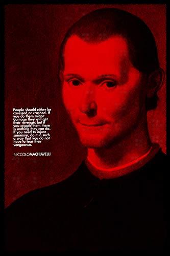 // TPCK // Niccolo Machiavelli Stampa D'Arte - Il Principe - Dimensioni: 53,3 x 35,5 cm