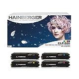 4x XXL Toner Set für Samsung CLP-680 1xBK,C,M,Y-BK 6.000 S,Color je 3.500 S, kompatibel zu Samsung CLP-680 DW ND Series CLX-6260 FD FR FW ND - CLT-K506L C506L M506L Y506L