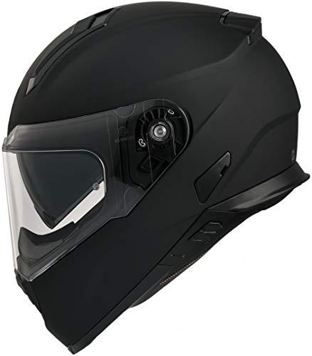 Vemar Zephir Solid Casco del motociclo Nero opaco
