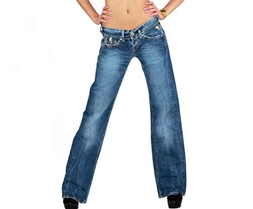 Replay Janice WV580. 084.019 Damen Jeans, 12 OZ Blue Denim W25/L34