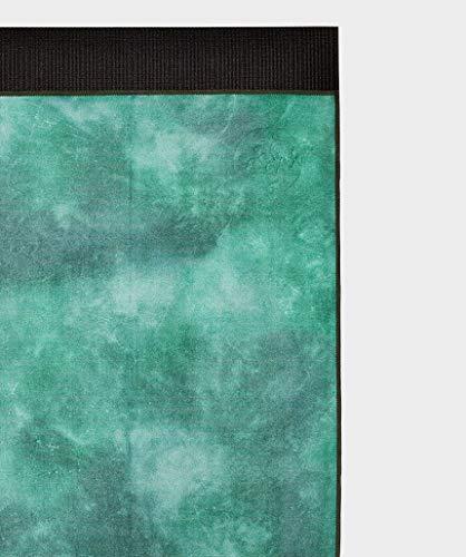 マンドゥカ(Manduka)eQuaマットタオル(L)20SSヨガグッズ212014日本正規品/カモグリーンタイダイ(グリーン)Fサイズ