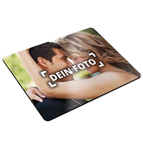 PhotoFancy® - Mousepad mit eigenem Foto bedrucken - Mauspad selbst gestalten (32 x 27 cm)