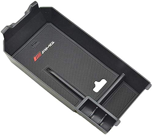 Guantera con reposabrazos y bandeja de almacenamiento para la consola central del coche para clase C, C180, C200, C220, C250, C300, C350, W205 2014 +