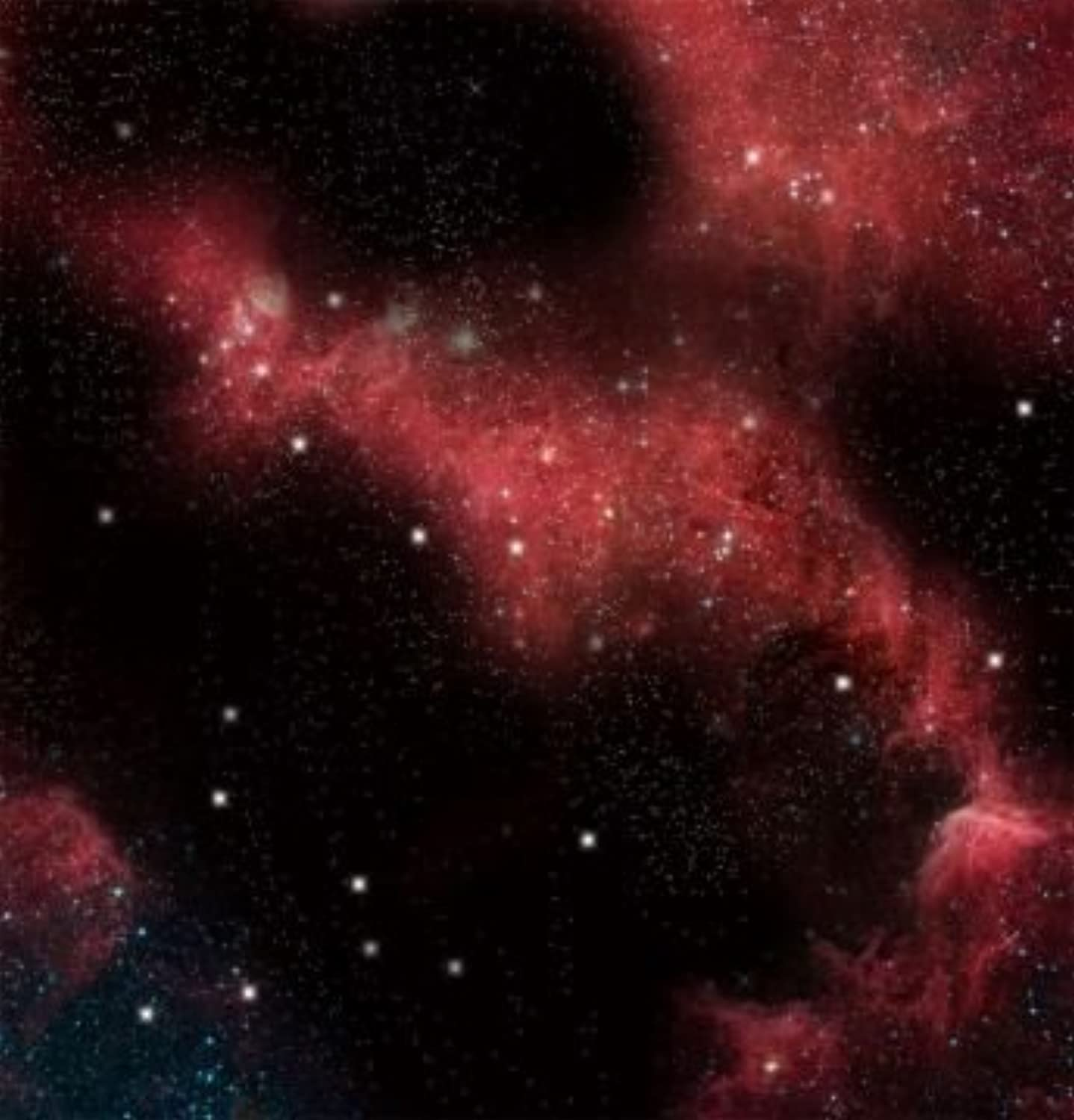Crimson Gas Cloud Space Mat, 36 x 36 by Battlefront Miniature