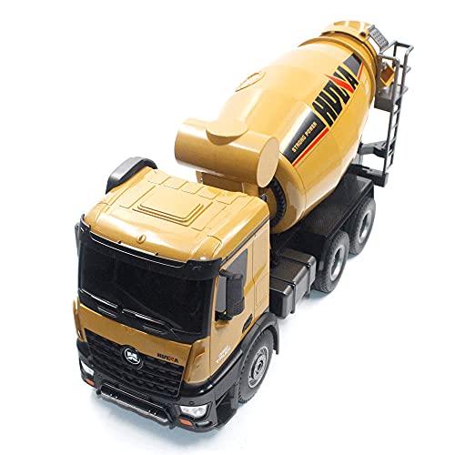 HYKCSS 2.4GHz Telecomando Veicolo di ingegneria Camion della betoniera Ricaricabile Simulazione Modello di Bambino Veicolo di ingegneria in Lega di Grandi Dimensioni Grande Auto Giocattolo Regali