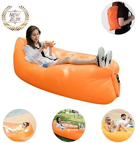 Tatayang Aufblasbarer Lounger, Wasserdichtes Luft Sofa mit Portable Paket, Lazy Lounger Aufblasbares Sofa Air Bett für Reisen, Camping, Wandern, Pool und Beach Parties