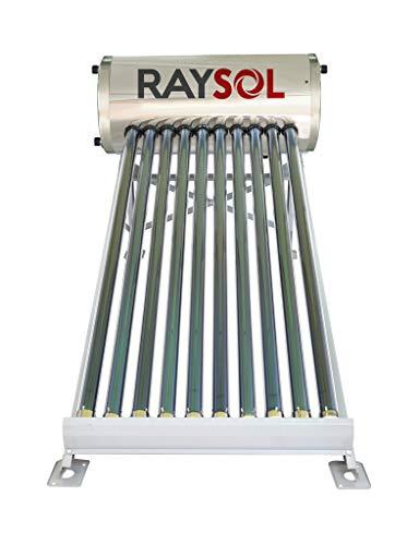 Calentador Solar Raysol Gr-10 Tubos-100 Litros Baja Presión