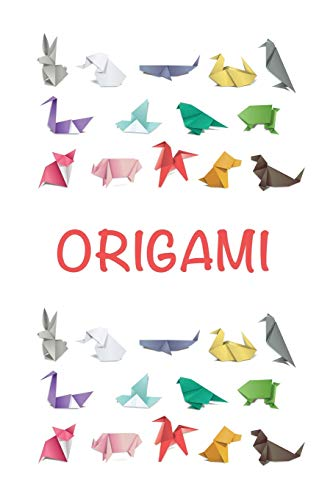 Origami: Animals Japanese Notebook   Cute Japanese Origami Blank Lined Journal Notebook for Kids School Stationery (Cute Origami Japanese Notebook) [Idioma Inglés]