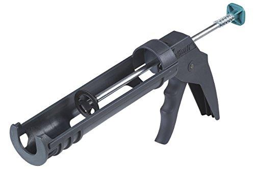 Wolfcraft 1 MG 100 mechanische Kartuschenpresse 4351000 / Leichte Kartuschenpistole mit automatischer Tropf-Stopp-Funktion / Für 310 ml Kartuschen geeignet