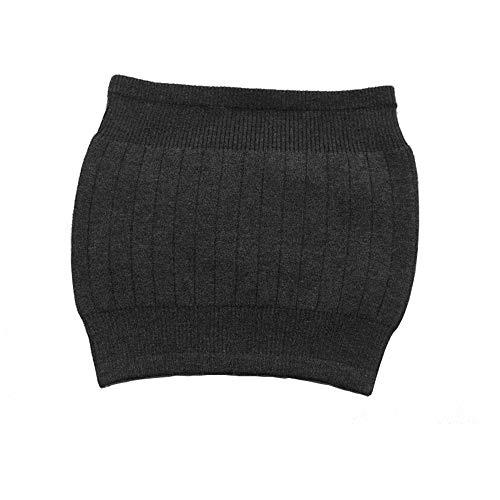 AGIA TEX Nierenwärmer Rückenwärmer atmungsaktiv elastisch Kaschmir-Wolle Leibwärmer für Damen Herren Kinder schwarz