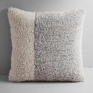 Colorblock Shag Pillow Cover | west elm