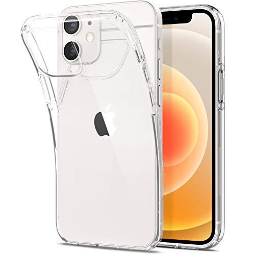 Spigen Liquid Crystal Designed for iPhone 12 Mini Case (2020) - Crystal Clear