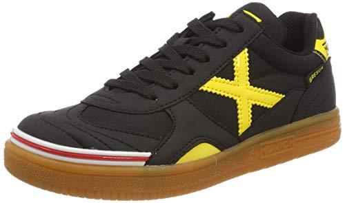 Munich Gresca Kid 02 S, Zapatillas de Deporte Hombre, Negro (Negro/Amarillo 606), 36 EU