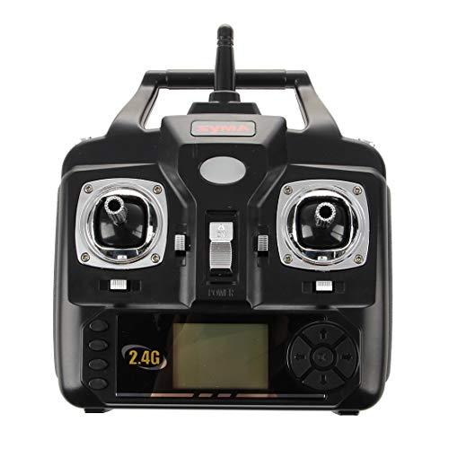 Calvas Syma Transmitter Remote Control for SYMA X5 and X5C Quadcopter Drone Remote Control, Black
