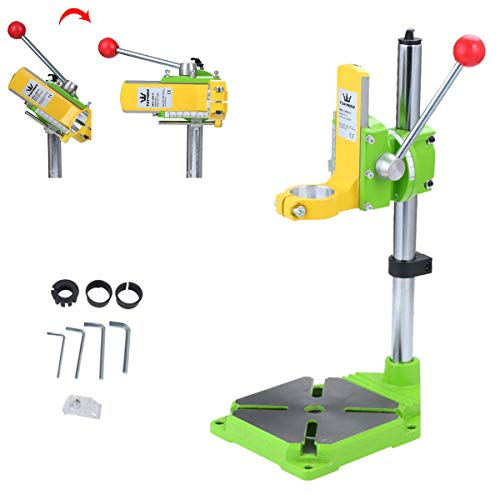 TOPWAY Multifunction Drill Press Floor Drill Stand, Electric Power Drill Press Workbench Top Table Holder for Home DIY Industry Work, 38-43mm
