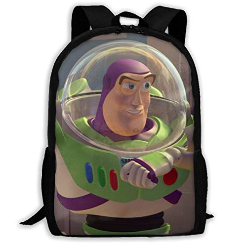 Toy Story Buzz Lightyear Adult Travel Bapa Fits 15.6 Inch Laptop Bapas School College Bag Casual Rusa for Men & Women