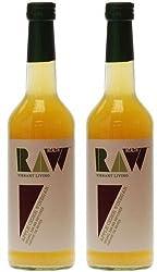 Raw Health Organic Apple Cider Vinegar 500ml - Pack of 2 Quantity: 2