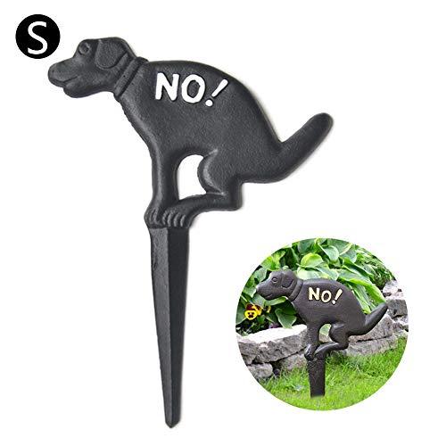 Cartelli da Giardino, Segnale di Divieto per Indicare: No Dog Poop Yard Sign - Questa Non È Una Toilette per Cani, Cartelli Stradali, per Proteggere I