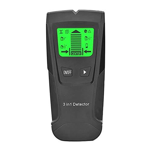 tidystore Ortungsgerät 3 in 1 Multifunktionsstab Scanner Detektor Stud Finder Metalldetektor für Metall-, Rohr-, Holz-, Stromleitungs-, AC-Spannungsführenden inklusive Batterie