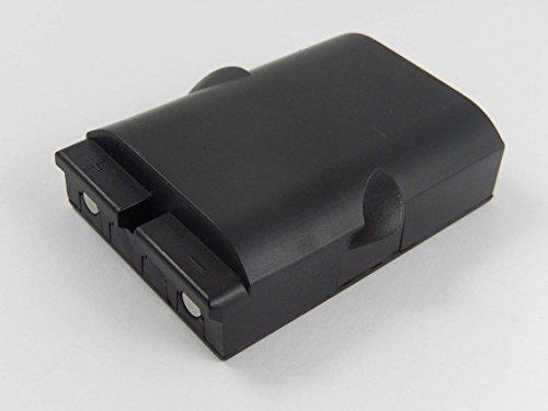 vhbw NiMH Akku 700mAh (4.8V) für Funkfernsteuerungen, Remote Control Ikusi TM70/1, TM70/2 wie BT06K, 2303692