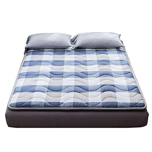 LPZF Japonesa Tatami Futón Colchón Acolchado, Enrollable Colchón 100% Algodón Sleeping Pad No Era-Slip Soporte Anti-ácaro Dormitorio Dormitorio-c 120x190cm H:5cm
