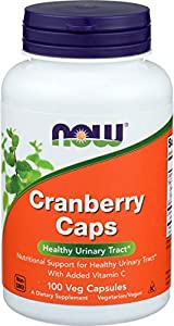 Now Foods Cranberry Caps, Arándano Rojo - 100 Cápsulas