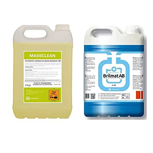 Detergente lavavajillas especial aguas blandas + Abrillantador profesional aguas blandas