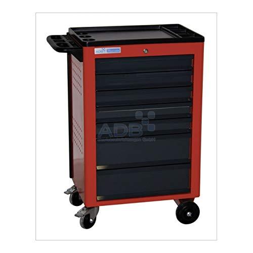 ADB Werkstattwagen Basic 7SL leer RAL3020/7016 5x80,2x160mm
