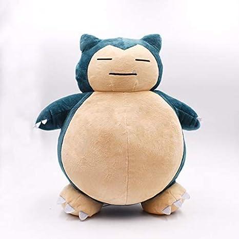 Boufery Anime Doll Snorlax Peluche, Kawaii Raro Muñeco de Peluche Suave, Regalos de Cumpleaños para Niños Niños 30Cm