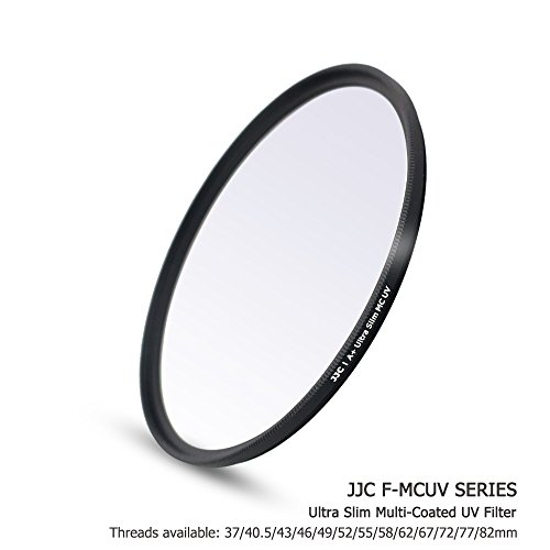 JJC Multi-Coated 58mm UV Filter for Canon EOS Rebel T7 T6 T8i T7i T6s T6i SL3 SL2 with EF-S 18-55mm Kit Lens,Fujifilm X-T30 X-T20 with XF 18-55mm Kit Lens,Panasonic G9 G85 GH5 with 12-60mm Kit Lens -  F-MCUV58