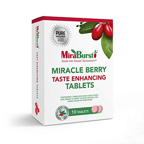 MiraBurst Taste Enhancing Miracle Berry Tablets (10 Count),...