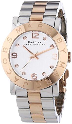 Marc Jacobs Damen-Armbanduhr Analog Quarz Edelstahl MBM3194